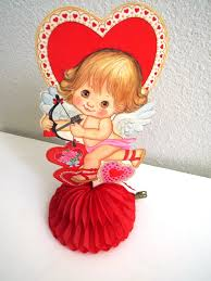 Valentine S Day Table Decorations by Vintage Valentines Day Table Decoration Cupid Bow Arrow Heart