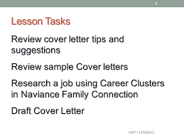 presentation letter cover letter naviance family connection ppt
