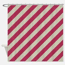 Grey Red Curtains Striped Grey Red Shower Curtains Striped Grey Red Fabric Shower