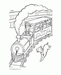 get this train coloring pages for kindergarten 88046