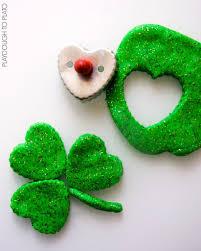 Shamrock Green St Patrick U0027s Day Playdough Playdough To Plato
