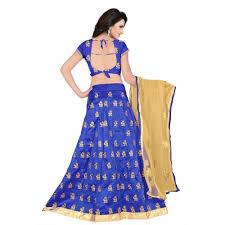 Buy Violet Embroidered Art Silk Buy Active Feel Free Life Art Silk Embroidered Lehenga Choli