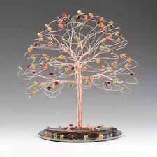 fall tree wedding cake topper 7 x 7 with genuine