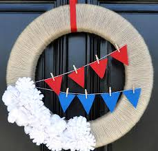 4th Of July Bunting Decorations Diy Your 4th Of July Decor With These 15 Projects