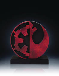 buy the star wars imperial rebel logo bookends in canada home decor