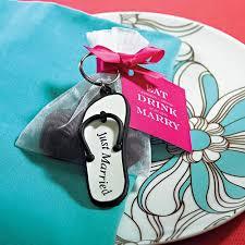 flip flop wedding favors mini flip flop just married key chains weddingstar