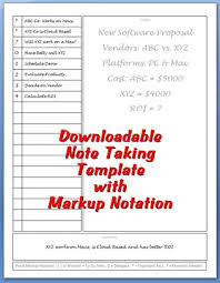 Note Sheet Template Note Taking Template Personal Success Today