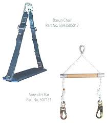 msa page 93 lynx personnel material hoist bosun chair and