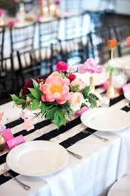black white striped table runner black and white table runners wedding black white and gold wedding
