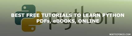 online tutorial of python 20 best free tutorials to learn python pdfs ebooks online