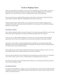 Shaping Eyebrows At Home Eyebrow Shaping Classes Pdf Pdf Archive
