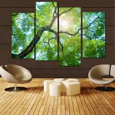 Green Home Decor Compare Prices On Green Oil Painting Online Shopping Buy Low
