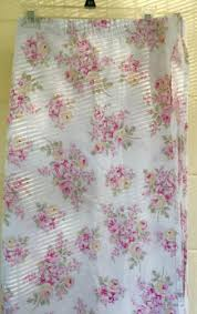 rachel ashwell shower curtain simply shabby chic blush beauty pink