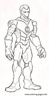 standing iron man coloring page1f83 coloring pages printable
