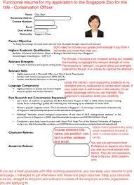 free resume template australia zoo resume template singapore style