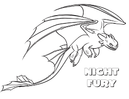 how to train your dragon coloring page monstrous nightmare