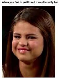 Smiling Crying Face Meme - selena gomez crying fart meme jpg 400纓500 giggles pinterest