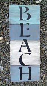 beachy signs wooden sign measures 7 x 18 approx painted
