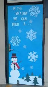 snowman door decorations winter snowman classroom door decoration by rhonda367 christmas