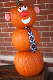 No Carve Pumpkin Decorating Ideas No Carve Pumpkin Decorating Mr Pumpkin Man Hands On As We Grow