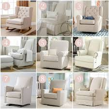 living room glider you can t live without a nursery chair best brands in recliners