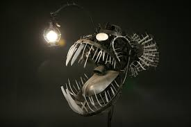 Finding Nemo Light Fish Scary Deep Sea Angler Lamp Combines Recycling And Energy Efficient