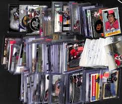 lot detail lot of 100 certified autograph football cards w
