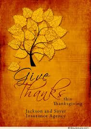 a day of thanks photo card blessings thanksgiving text