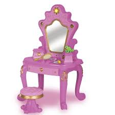 Childrens Vanity Tables Amazon Disney Tangled Rapunzel Enchanted Doll Vanity Set Only