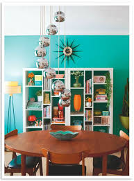 Best Mid Century Dining Rooms Images On Pinterest - Retro dining room