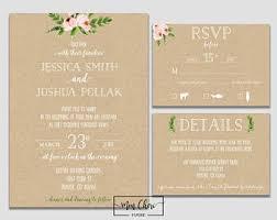 invitation paper wedding invitations paper etsy