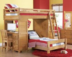 Creekside Taffy Twin Twin Student Loft Bed W Desk With Chest - Rooms to go bunk bed