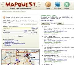 map qwest photos mapquest directions
