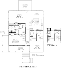 A Floor Plan by Houseplans Biz House Plan 3477 A The Kiawah A