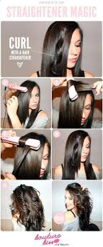 different ways to curl your hair with a wand hair style remarkable how to make your hair wavy flatiron curls