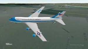 Bing Maps 3d Air Force One Flyover New York In Bing Maps 3d Youtube