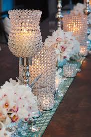 Wedding Table Decoration Ideas Outstanding Crystal Table Decorations For Weddings 72 For Wedding