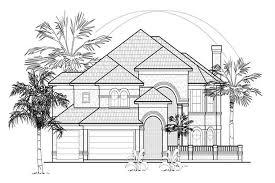 Split Master Bedroom Mediterranean House Plan 134 1172 4 Bedrm 4354 Sq Ft Home