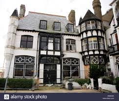 haunted mansion the front ramsgate kent uk europe stock photo