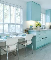 Sky Kitchen Cabinets Pantone Island Paradise Blue Cabinets Light Turquoise And Pantone