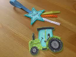 tracteur en bois un tracteur en piqué libre monté en écusson thermocollant oh