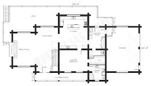 floor plans for log homes mlh 025 montana log homes