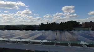 clark university alumni and student engagement center solar
