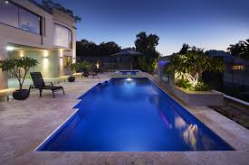 Pool Images Backyard by Fibreglass Swimming Pools Australian Outdoor Living