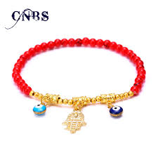 evil eye beaded bracelet images Glass beads bracelet femme men turkish jewelry gold charm jpg