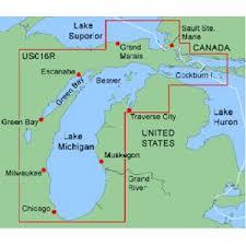 map of michigan lakes lake michigan on us map michigan map