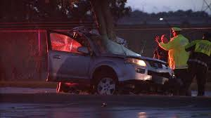 two die overnight in dallas when car crashes into tree story kdfw