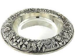 silver fish ring holder images Sterling silver dish ebay JPG