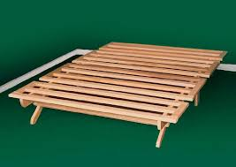 Wooden Folding Bed Hideaway Bed Rail Fold Away Bed