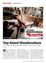 custom woodworking magazine u2014 nk woodworking u0026 design